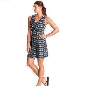 Athleta Adriana faux wrap style mini dress
